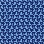 GOLFINHOS Popeline Delfine klein blau