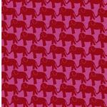 ELEPHANT PARADE by Jolijou Jersey  pink