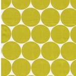 DORO Popeline Dots weiß lime