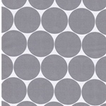 DORO Popeline Dots weiß grau