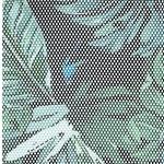 DJUNGEL-MESH Meshgewebe Palmblätter