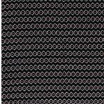 YVONNE Viskose Muster schwarz weiß