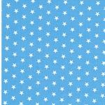 CARRIE Sterne hellblau weiß