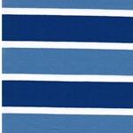 LOU Jersey Streifen blau weiß