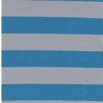 ISA Baumwolljersey Streifen hellblau gra