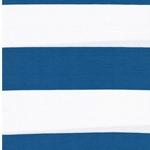 LINA Viskosejersey Blockstreifen blau