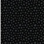 KARLA Jacquard-Bündchen Dots schwarz gra