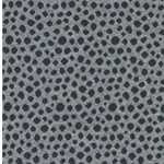 KARLA Jacquard-Bündchen Dots grau anthra