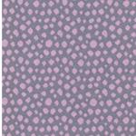 KARLA Jacquard-Bündchen Dots grau rosa