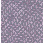 KARLA Jacquard-Bündchen Kreuze grau rosa