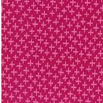 KARLA Jacquard-Bündchen Kreuze pink rosa