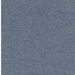 MAURI Jacquard-Jersey jeansblau