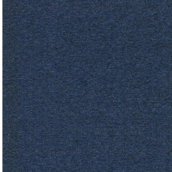 HEIKE MELANGE Bündchen 240g/m² jeansblau