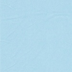 Bündchen organic hellblau