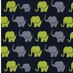 ELEPHANT PARADE Jersey blau grün grau