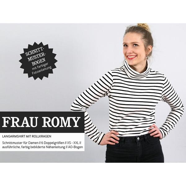 Schnittreif Schnittmuster FRAU ROMY