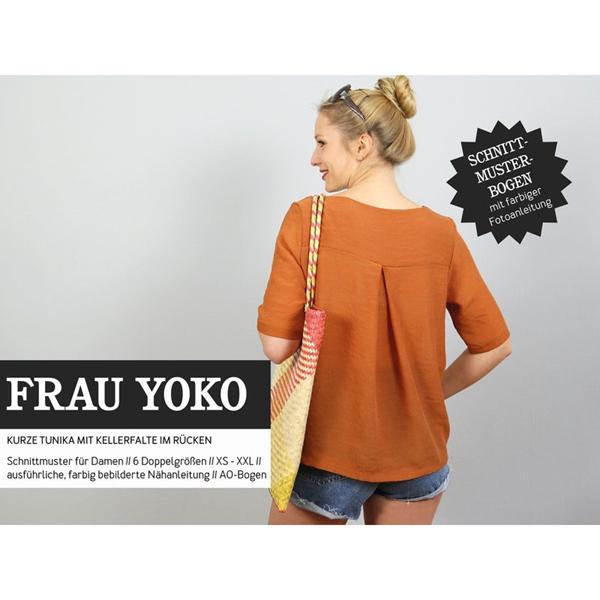 Schnittreif Schnittmuster FRAU YOKO