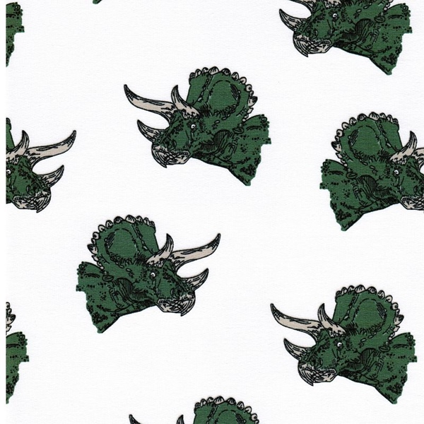 TRICERATOPS organic Sweat white