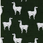 LUCKY LLAMA organic Sweat dark green