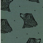 CURIOUS BEAR organic Sweat dusty green