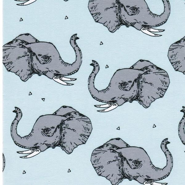 MAJESTIC ELEPHANT organic Jersey mint