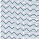 PLAYFUL CUTIES FLANNEL Chevron grau