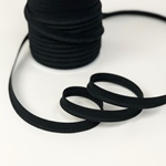 Paspelband 10 mm schwarz