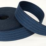 Gurtband 40 mm blau navy