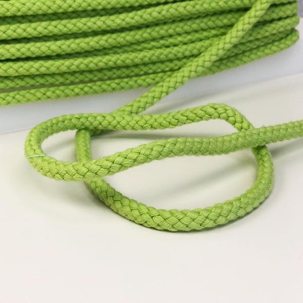 breite Kordel 8 mm grün