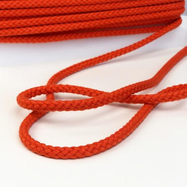 breite Kordel 8 mm orange