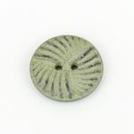 Polyesterknopf 23 mm 2-Loch Muster grün