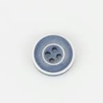 Knopf 4-Loch 12 mm blaugrau
