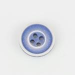 Knopf 4-Loch 12 mm blau