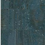 Korkstoff SURFACE blau silber 24 x 34 cm