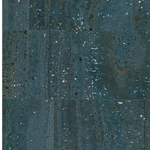 Korkstoff SURFACE blau silber 49 x 69 cm
