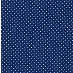 EMILIE Popeline Punkte blau