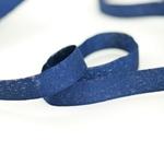 Glitzer-Ripsband Lurex 16 mm dunkelblau