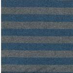 LENN Feinstrick blau grau meliert