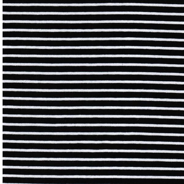 CAMPAN Jersey Streifen nachtblau weiß