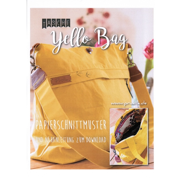 Prülla Papierschnittmuster YELLO BAG