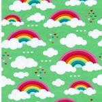 BW-Jersey Regenbogen Wolken hellgrün