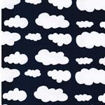 VERENA Jersey Wolken marine weiß