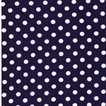 VERENA Jersey Dots lila weiß