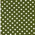 VERENA Jersey Dots olive weiß