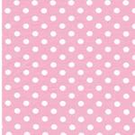 VERENA Jersey Dots rosa weiß