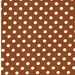 VERENA Jersey Dots karamell weiß
