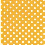 VERENA Jersey Dots sonnengelb weiß