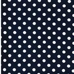 VERENA Jersey Dots marine weiß