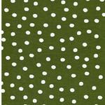 PAULINE Viskosejersey Punkte olive