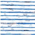 GECKO TRAILS Jersey Streifen Geckos weiß